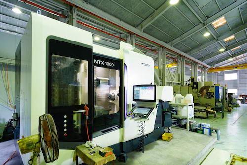 5軸複合機 DMG森精機 NTX1000